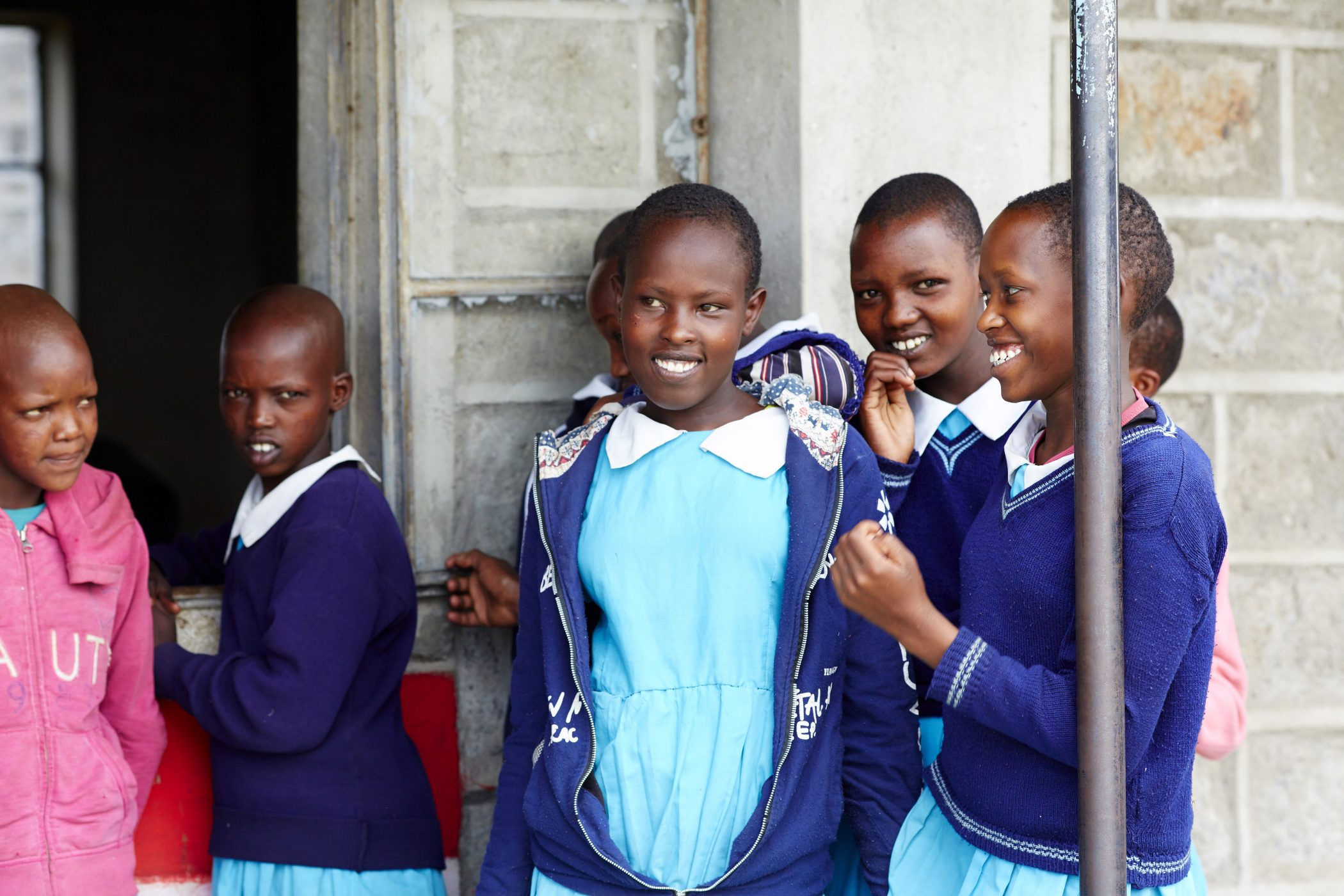 Kinder in der Schule, Kenia, Loita Hills